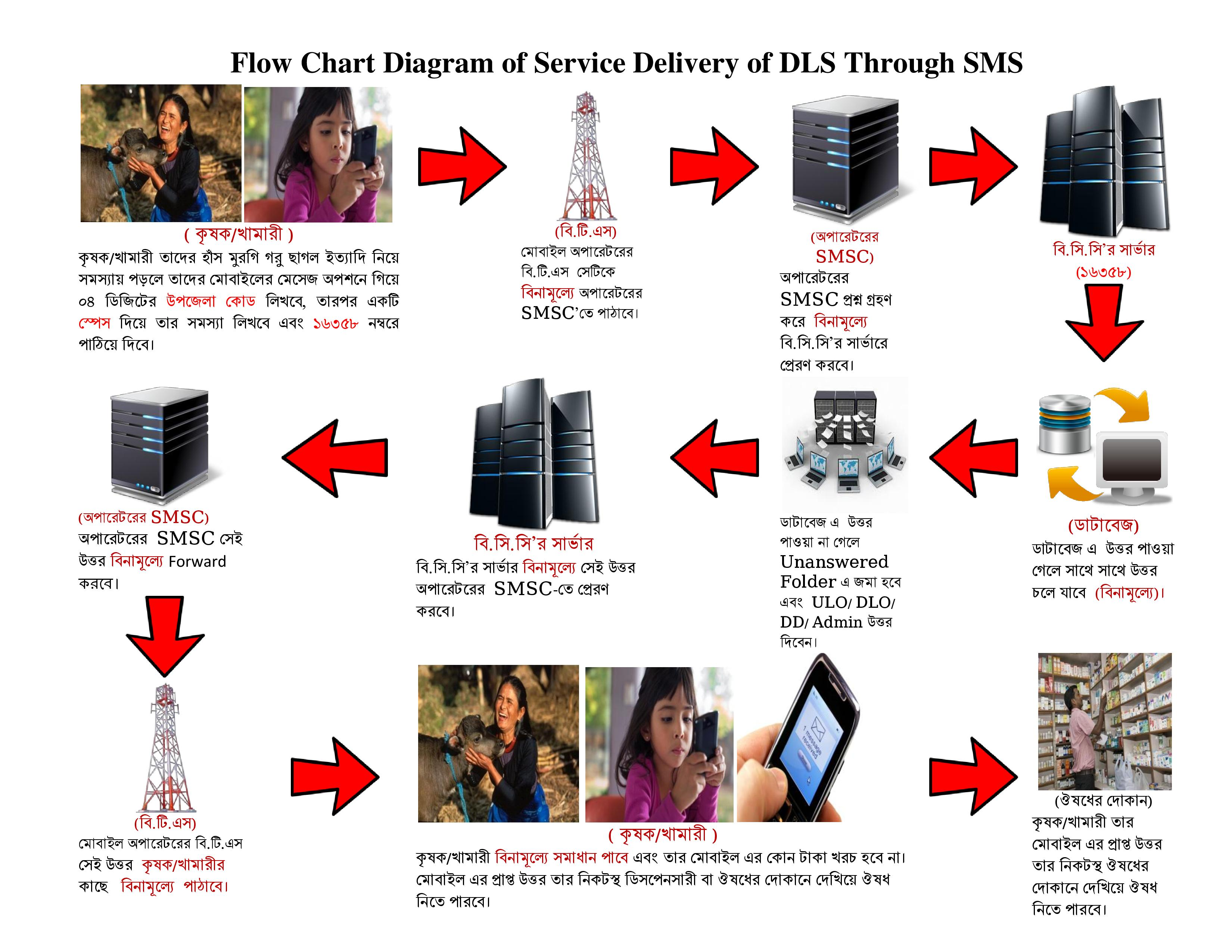SMS Service of DLS